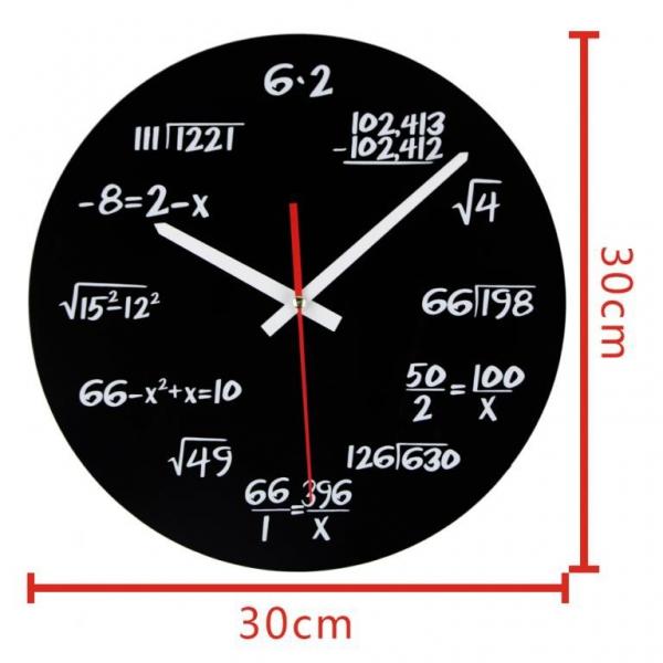 Ceasul de perete Matematica 5