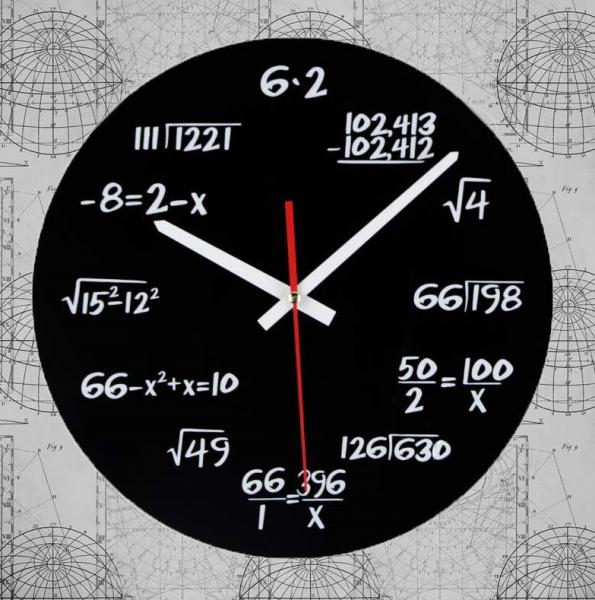 Ceasul de perete Matematica 0