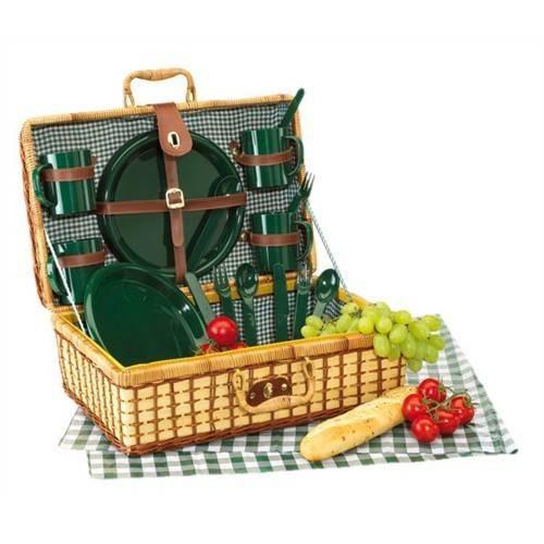 Cos de picnic GREEN PARK pentru 4 persoane 1