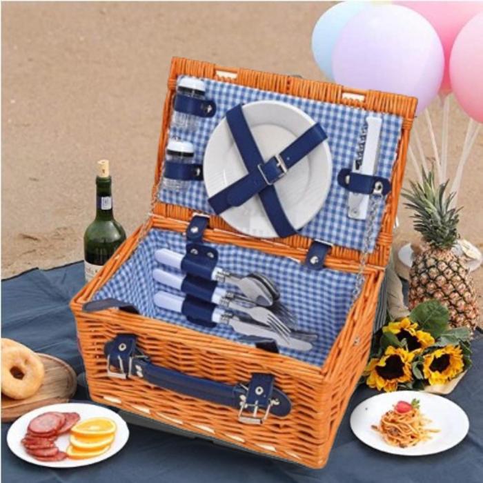Cos pentru picnic 2 persoane Braun 0
