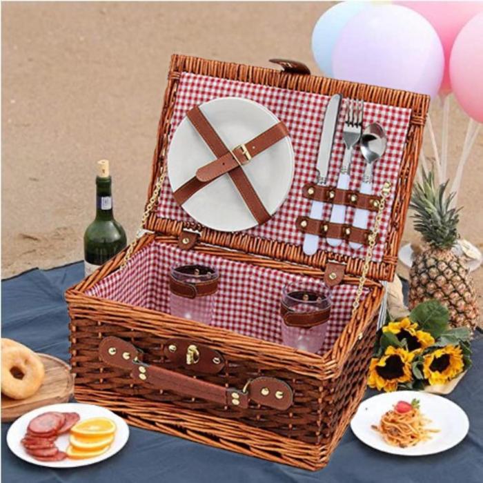 Cos pentru picnic 2 persoane Rote 0