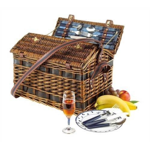 Cos pentru picnic SUMMERTIME de 4 persoane 1