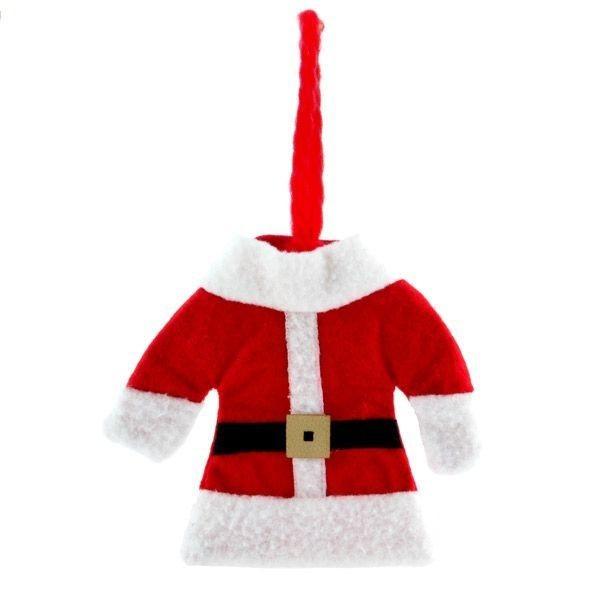 Costum de Mos Crăciun pentru tacamuri 2
