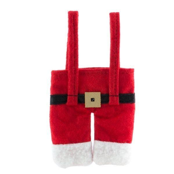 Costum de Mos Crăciun pentru tacamuri 3
