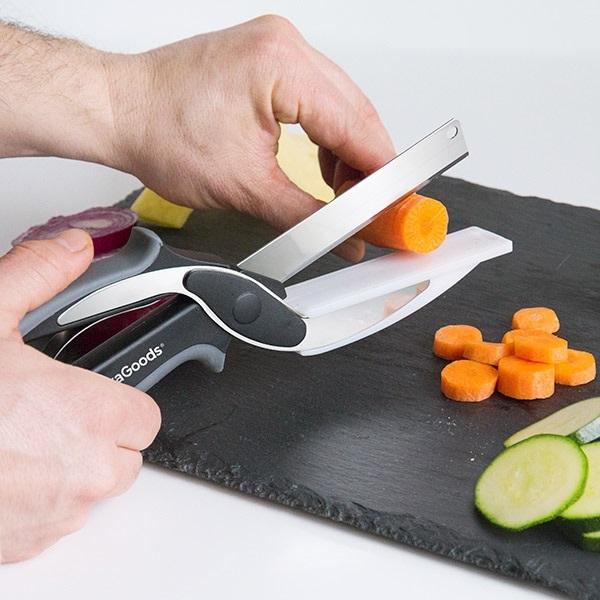 Cutit-foarfeca cu minitocator integrat 5