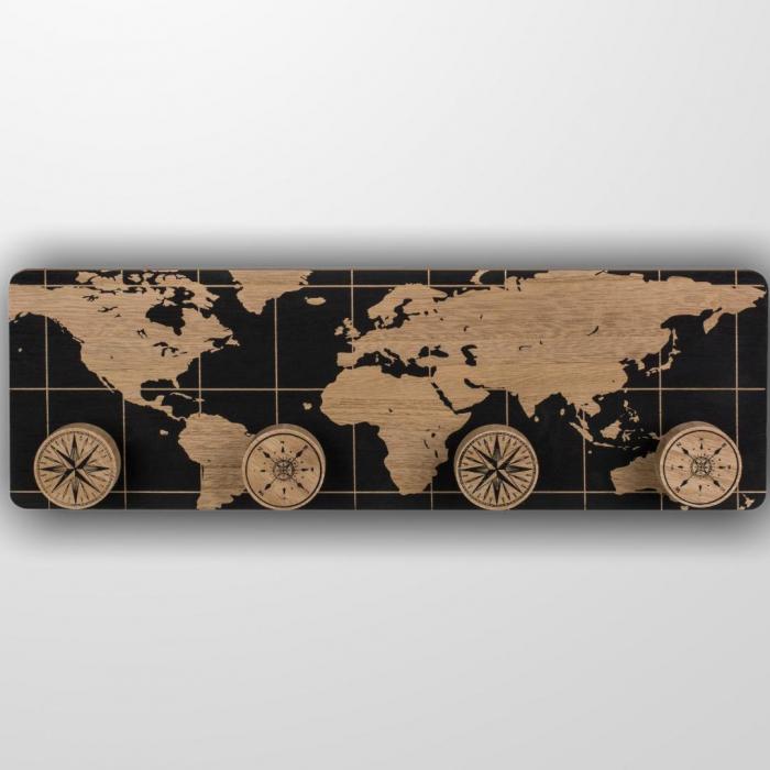 Cuier din lemn Earth 1