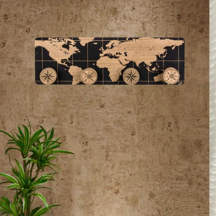 Cuier din lemn Earth 0