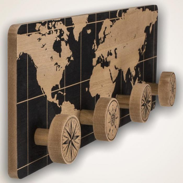 Cuier din lemn Earth 2