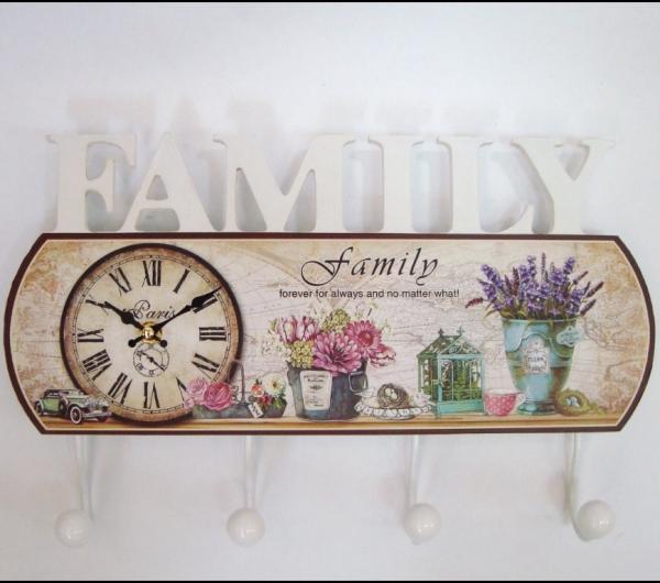 Cuier Family cu ceas 0