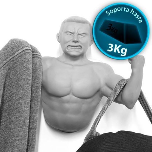 Cuier in forma de brat barbat fitness 2