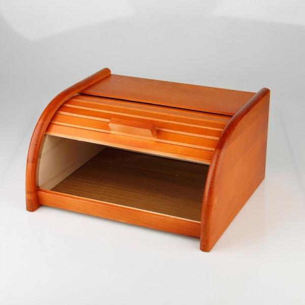 Cutie din lemn pentru paine cu tacator 1