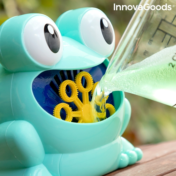Distribuitor automat de bule de sapun Froggly 0