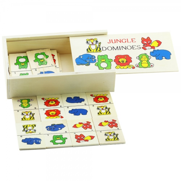 Domino cu animale salbatice 2
