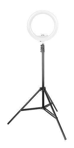 Lampa circulara portabila, cu putere de 30W pentru foto, make-up, cosmetica 11