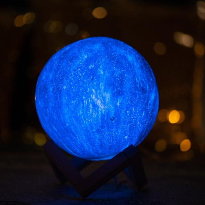 Lampa 3D - STARS - 16 culori 1