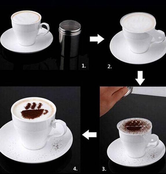 Set 16 forme pentru decorat cafeaua 3