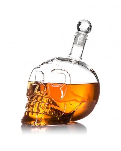 Carafa Cap de mort pentru bauturi 3