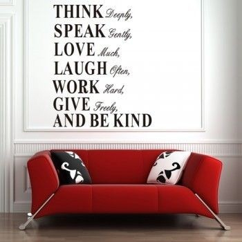 Autocolant/ sticker inspirational Think Deeply 1