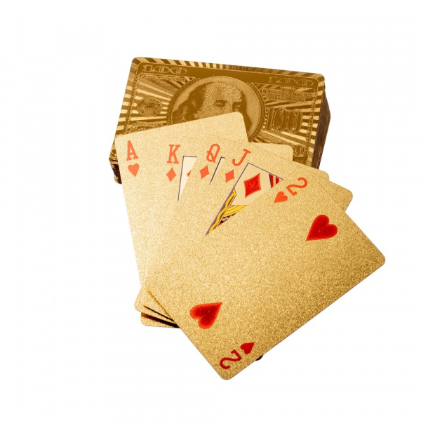 Carti de pocker Aurii - Las Vegas 3