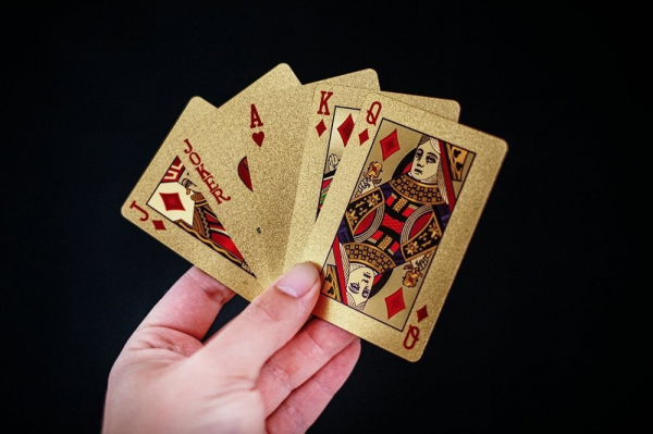 Carti de pocker Aurii - Las Vegas 0
