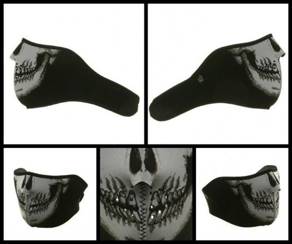 Masca de neopren - cap de mort. 2