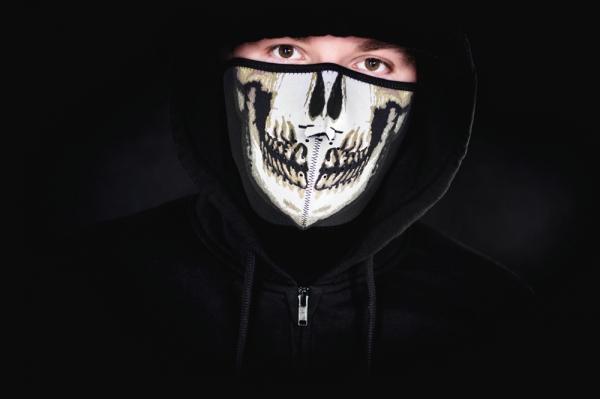 Masca de neopren - cap de mort. 0