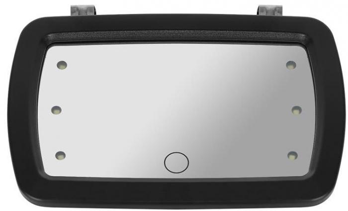 Oglinda auto supraveghere copil, iluminata LED 3