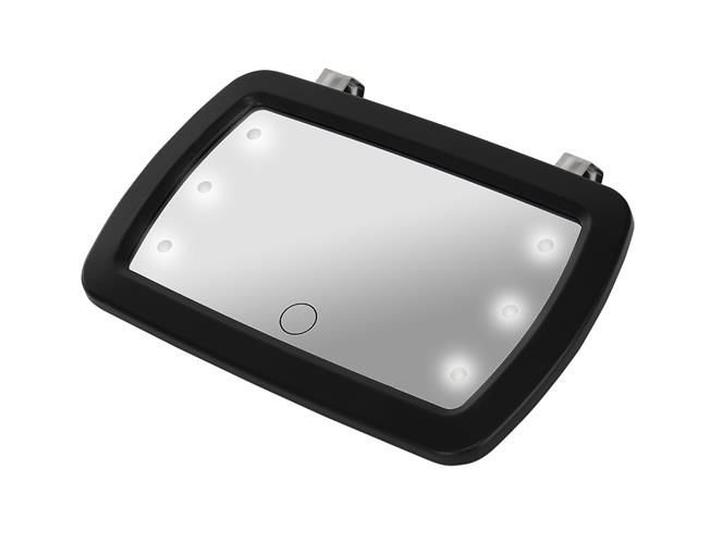 Oglinda auto supraveghere copil, iluminata LED 4