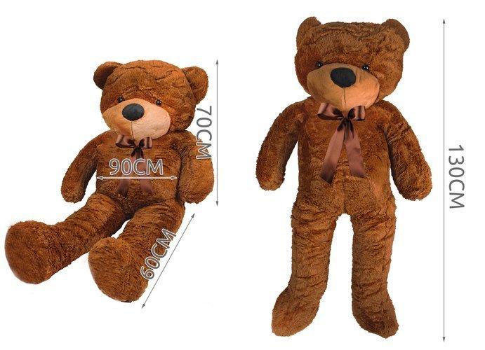 Ursulet de plus Gigant 130 cm 4