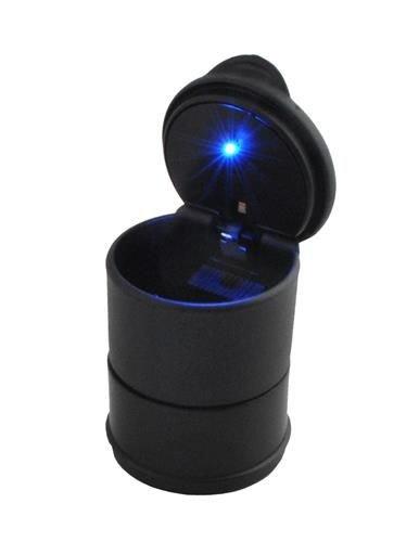Scrumiera universala pentru masina cu capac si lumina led 2