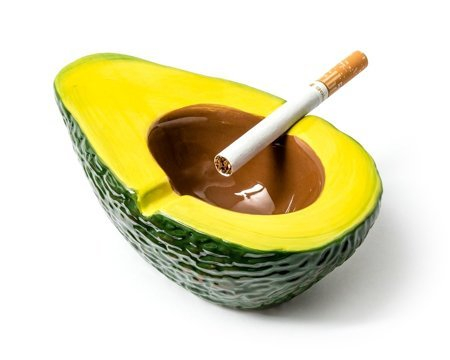 Scrumiera Avocado [3]