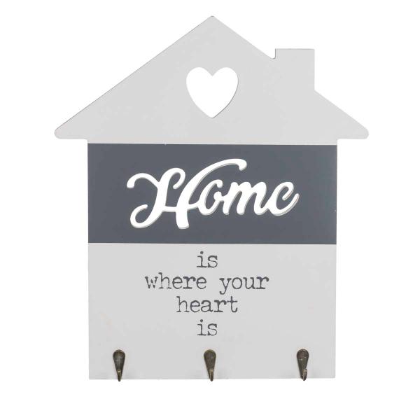 Suport din lemn pentru chei Love home 1