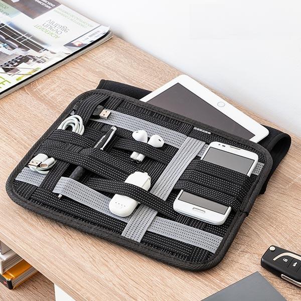 Husa pentru tableta cu organizator de accesorii Flexi·Case 0