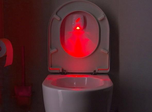 Indicator luminos cu led pentru toaleta 1