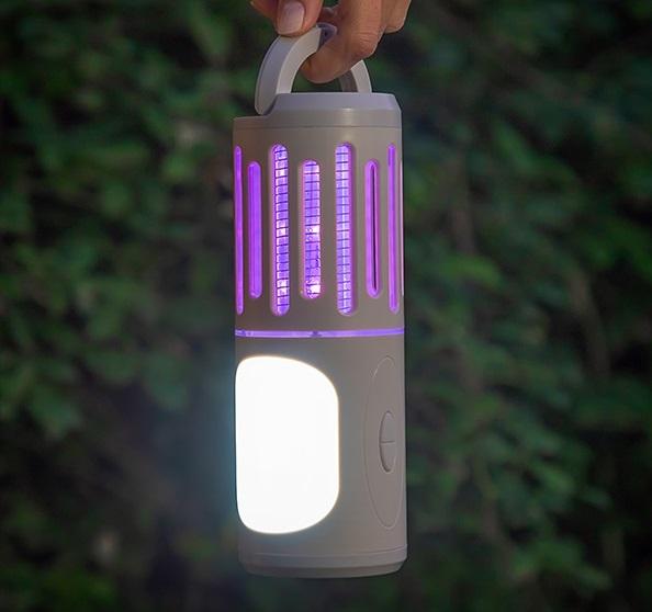 Lampa anti tantari lanternă și felinar portabil 3 în 1 2