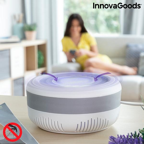 Lampa anti-țânțari pe baza de aspirație cu suport de perete KL [0]