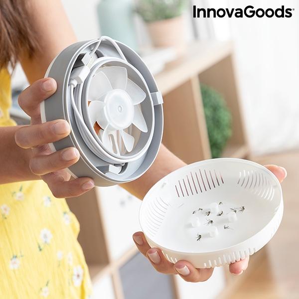 Lampa anti-țânțari pe baza de aspirație cu suport de perete KL [4]