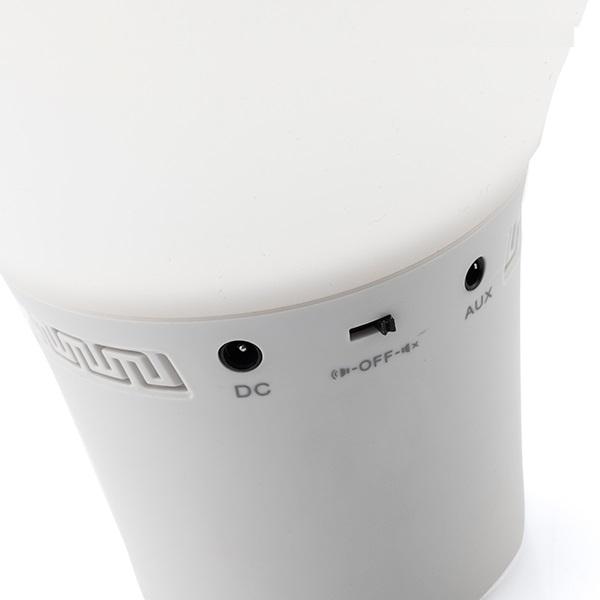 Lampă Bec LED Tactil din Silicon cu Boxă 5