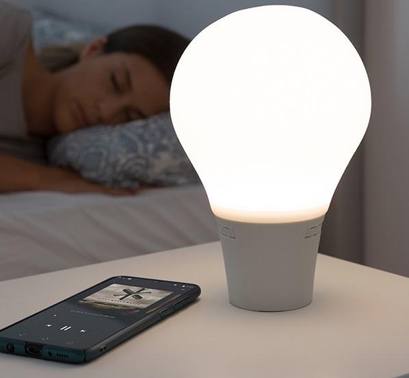 Lampă Bec LED Tactil din Silicon cu Boxă 6