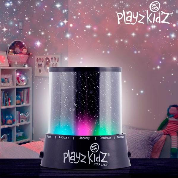 Lampa  cu led si proiector de Stele Playz Kidz 0