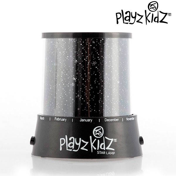 Lampa  cu led si proiector de Stele Playz Kidz 3