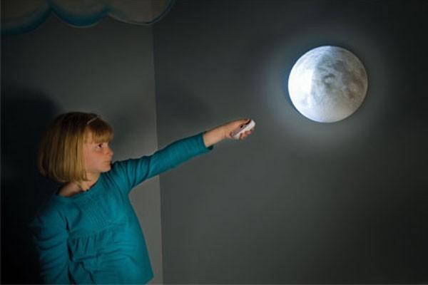 Lampa de perete cu fazele lunii 6