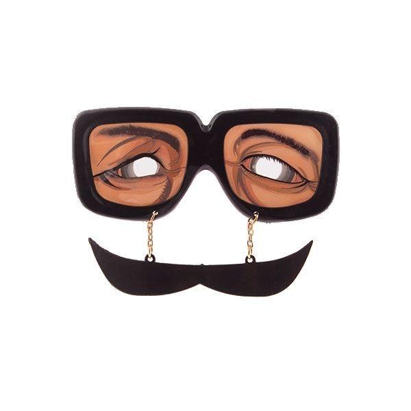 Ochelari cu mustata
