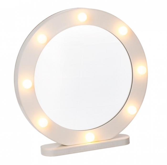 Oglinda make-up cu 8 led-uri 0