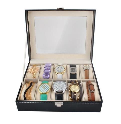 Organizator elegant pentru 10 ceasuri