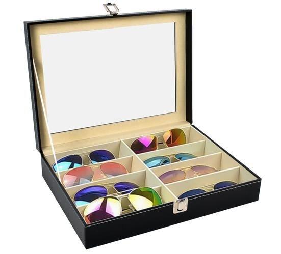 Organizator pentru ochelari 8 compartimente