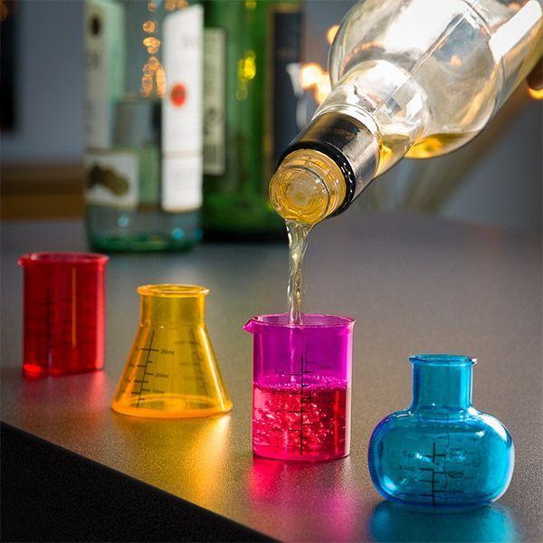 Set 4 pahare de aperitiv Chemistry 0
