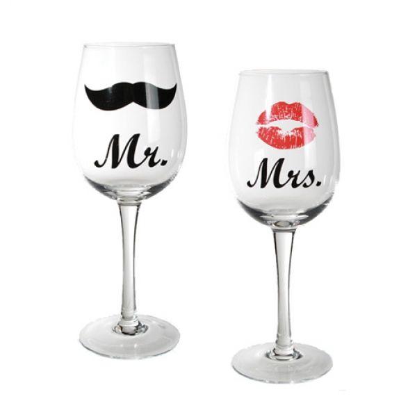 Pahare Mr şi Mrs