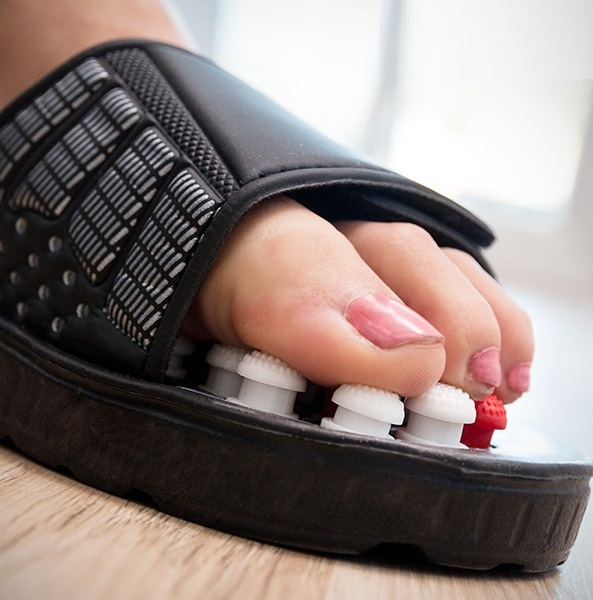Papuci cu acupunctura 4