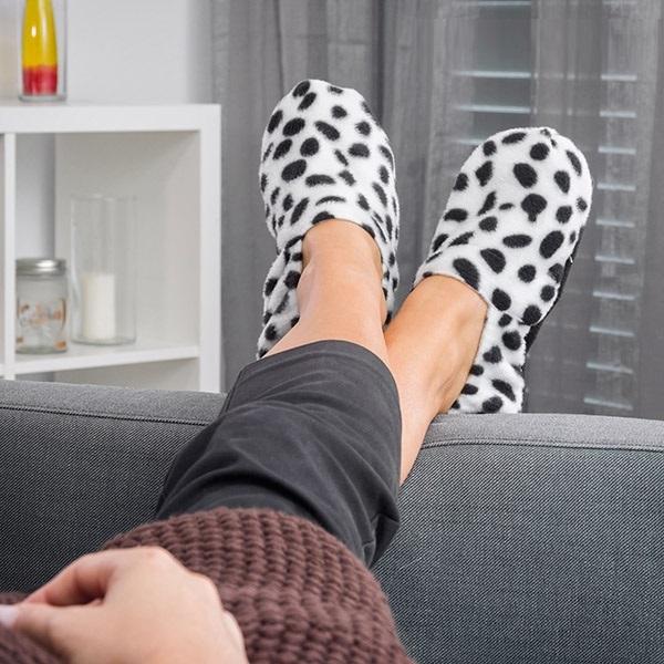Papuci de casa cu Incalzire la microunde 1